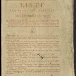 Livre rouge 1815